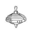 sketch of a whirligig vector image