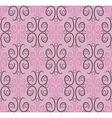 Seamless pattern ornamental wallpaper vector image