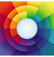 abstract background in rainbow colours vector image vector image