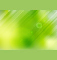 abstract green nature blurred background vector image vector image