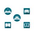 book symbol icon vector image vector image