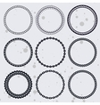 Collection with circle frames vector | Price: 1 Credit (USD $1)