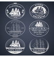 Nautical labels white