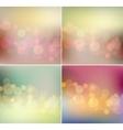 soft light blurred background retro color vector image