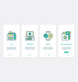 support communication call center ux ui vector image