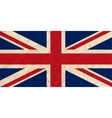 United Kingdom paper flag vector image
