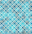 blue circle seamless pattern with grunge effect vector image vector image