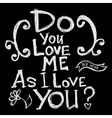 do you love 202 2 01 vector image vector image