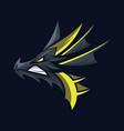 dragon sport gaming mascot logo template vector image vector image