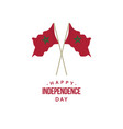 happy morocco independence day template design vector image