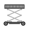 Lifter Crane vector image vector image