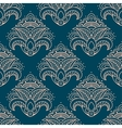 Paisley bell shaped flowers seamless pattern vector image vector image