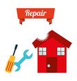 repair service design vector image