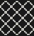 seamless ornament pattern with diagonal grid vector image vector image
