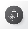snowflakes icon symbol premium quality isolated vector image vector image