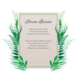 card with place for your textthe letter of thanks vector image
