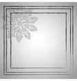 Frame on a Gray Background vector image