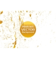 Gold abstract painted marble vector image vector image