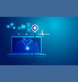 healthcaretech vector image vector image
