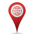 location world icon vector image vector image
