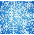 Christmas seamless blue pattern background with vector image