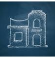 arabic house icon vector image