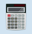 calculator in flat style vector image