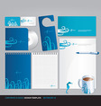 corporate business design template vector image vector image