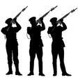 guard honor 2 vector image