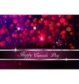 Happy Canada Day background vector image vector image