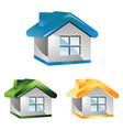 home-icon vector image vector image