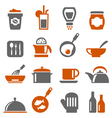 Kitchen Ware icons vector image
