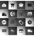 Market Icons Set vector image