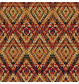 native american style fabric wallpaper vector image vector image