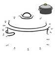 numbers game pot vector image vector image