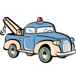 Toy tow truck vector image vector image