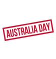 Australia Day rubber stamp vector image