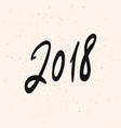 2018 new year calligraphy phrase greeting card