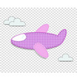 airplane clip art for scrapbook or baby shower vector image vector image