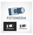 camera symbol vector image vector image