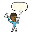 cartoon man drinking beer with speech bubble vector image vector image