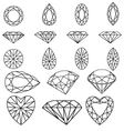 Diamond set vector | Price: 1 Credit (USD $1)