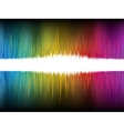 Equalizer Abstract Sound Waves EPS 8 vector image