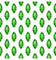 Seamless pattern with green gemstones vector image vector image