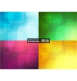 Set of simple flat gradient backgrounds vector image vector image