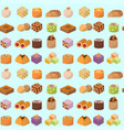 sweets east delicious dessert food vector image