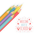 The school background vector image