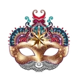 3d gold venetian carnival mask silhouette with