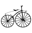 boneshaker bicycle vector image vector image