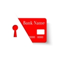 Credit Card Protection Concept Icon vector image